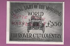 London, Display 1913, The Rover Co. Ltd.. Coventry Car