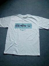 Ladies / unisex souvenir white cotton tee shirt withMexico logo