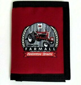 Lavin/Rogers-Whitley IH Farmall 1206 Red Men`s Nylon Wallet