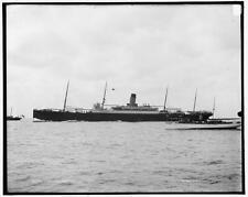 Ss Cymric,White Star Line,ocean liner,boats,ships,Detroit Publishing Co,19 7496