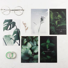 """Green Leaves"" 30 Pcs Mixed Postcards Set Lot Beautiful Postcard Cute Bookmark"