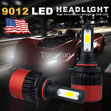 A2 9012 LED Headlight 16000LM KIT for Ford Edge 2011-2014 High Low Beam