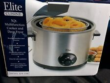 NEW Elite 5 Qt Multi-Cooker & Deep Fryer