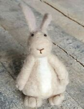 Fluffy Decorative Cute Cotton Tail Easter Spring Coffee Bunny Rabbit Pink Ears