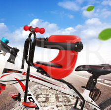 Kids Bicycle Front Chair Carrier Baby Bike Safety Seats Toddler Child Seat Pedal