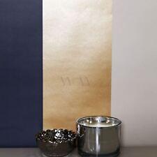 papier-peint rayé Metalique direct PAPIERS PEINTS - e40941 MARINE / doré / Taupe