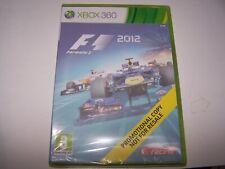 FORMULA 1 F1 2012  - PAL EUROPE -  XBOX 360 - NEUF SOUS CELLO