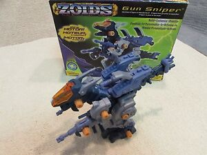 Zoids Gun Sniper Model Kit Wind-Up 1/72 Hasbro 2002  NIB