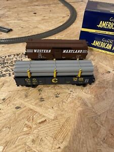Gilbert lionel AF  S Scale freight cars