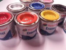 7 Airfix Humbrol Model paint tinlets.Any Colours You Choose