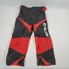 Ccm Junior Roller Hockey Pants Size Small Black Red M101Jr Indoor Outdoor Vg