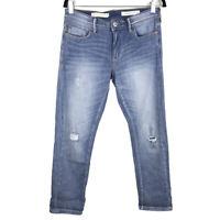 Anthropologie Pilcro and The Letter Press Slim Boyfriend Jeans Size 27 (30x27)
