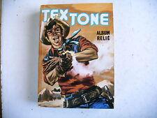 BD - album  TEXTONE album relié sans numéro reliant  n° 518 à 521 - 1986