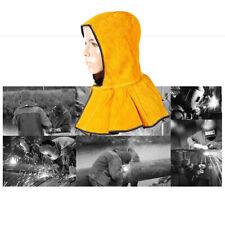 Heavy Duty Leather Fire Flame Retardant Protective Welders Welding Hood Mask