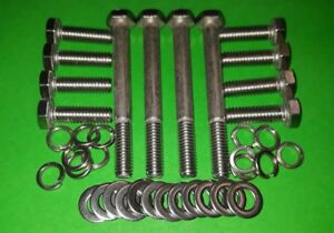 Triumph Stag V8 Engine Inlet Manifold STAINLESS Bolts Fitting Kit HB874 HU858