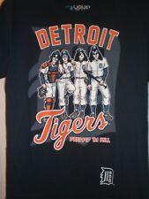 Kiss T SHIRT Detroit Tigers Dressed To Kill LARGE