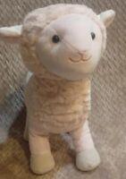 "Inter American Products Lamb Plush Stuffed Animal Toy Sheep Light Pink 12"" Soft"
