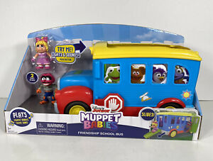 Disney Junior Muppet Babies Friendship School Bus With Lights, Music