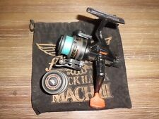Vintage FENWICK Black Hawk Mach-III Graphite Spinning Reel w/ Spare Spool