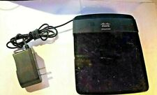Cisco Linksys Router E1200 & Power Cord In Good Condition - Tested