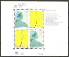 Portugal - Madeira Zeitgenössische Kunst Block 13 postfrisch 1993  Mi.162-163