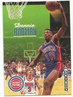 Dennis Rodman Skybox 1992/93 NBA Basketball Card #71