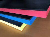 (66,00 EUR/m²) Hartschaumstoff Shadow Board Werkzeugeinlage (gr-rt)