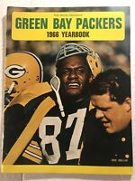 1966 GREEN BAY PACKERS Official Yearbook WILLIE DAVIS Bart STARR Vince LOMBARDI