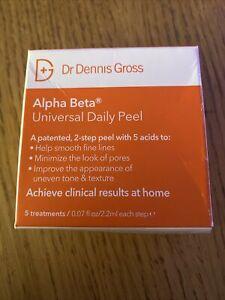 DR DENNIS GROSS Alpha Beta Universal Peel Pads X 5