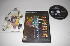 Unlimited SaGa Sony Playstation 2 PS2 Video Game Complete