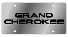 New Jeep Grand Cherokee Logo Stainless Steel License Plate