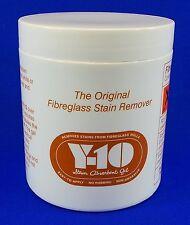 Y10 Fibreglass Stain Remover - Caravan Motorhome Dinghy - New AS33