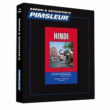 Pimsleur Learn/Speak HINDI Language Level 1 CDs NEW!!
