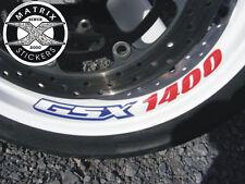 4 Stickers de JANTE GSX 1400 Suzuki