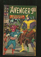 Avengers Comic # 33 silver age 1960's VF/NM TOUGH Captain America