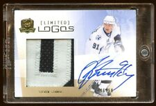 STEVEN STAMKOS 2009 THE CUP AUTO PATCH LIMITED LOGO /50  BEAUTIFUL NAMEPLATE