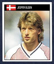 ORBIS 1990 WORLD CUP COLLECTION-#208-DENMARK-EX MANCHESTER UNITED