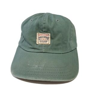 1990s Polo Ralph Lauren Authentic Dry Goods Chino Hat USA Made Vintage Faded RRL