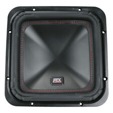 "MTX Audio S6512-44 S65 Series 12"" Dual 4-Ohm Car Audio Square Subwoofer NEW"