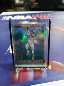 Giannis Antetokounmpo NBA Hoops Premium Stock Zero Gravity Silver Prizm No. 6