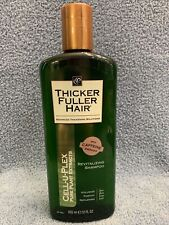 Cell-U-Plex Thicker Fuller Hair Pure Plant Extracts Revitalizing Shampoo