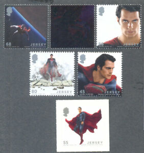 Jersey-Man of Steel-Superman-Lenticular Min sheet mnh(2014)