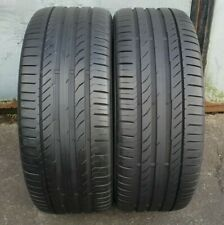 CONTINENTAL SPORT CONTACT 5 245/45/19 102Y XL 6-7MM M01 TYRES X2 (PAIR)