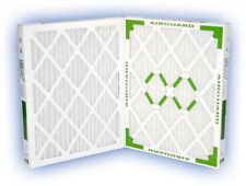 12x20x2 (11-1/2x19-1/2) DP Green 13 Pleated Panel Filter MERV 13 4-Pack