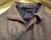 Dunbrody Donegal New Wool Tweed Handwoven Jacket From Ireland 42R