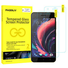 PASBUY 2 Pack Premium Tempered Glass Screen Protector for HTC Desire 10 Pro