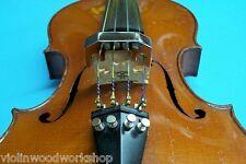 Violin Shop 3 4/4 Violin & 14 inch Viola Metal mute,
