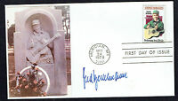Fred Bertelmann (d. 2014) signed autograph First Day Cover German Singer & Actor