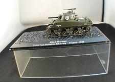 Tank Char M4A3 Sherman 756th battalion France 1945 neuf en boite kiosque