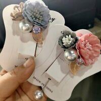 Fashion Flower Banquet Corsage Lapel Pin Brooch Suits Women Men Boutonniere Suit